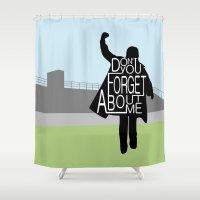 The Breakfast Club Shower Curtain