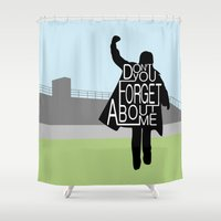 The Breakfast Club Shower Curtain
