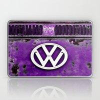 VW Retro Purple Laptop & iPad Skin