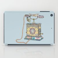 Waiting For Your Call Si… iPad Case
