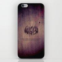 WASA3I.Rust. iPhone & iPod Skin