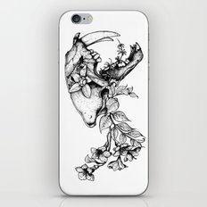 Prehistoric Bloom - The Cat iPhone & iPod Skin