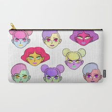 Don't Tell Me To Smile Carry-All Pouch
