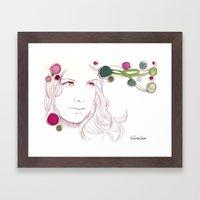 Suna Sun 01 Framed Art Print