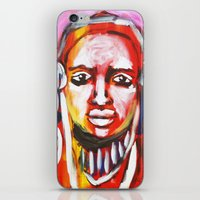 Anguish iPhone & iPod Skin