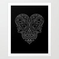 Heart Inside Art Print