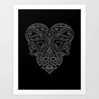 Heart Inside Art Print