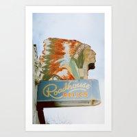 Roadside Relics Art Print