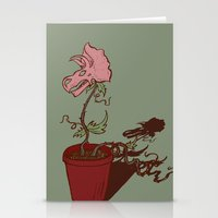 Nepenthes Ceratopsidae Stationery Cards