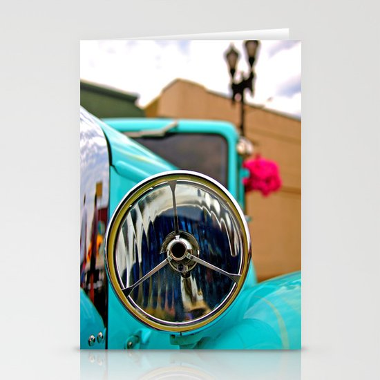 Headlight Americana Stationery Card