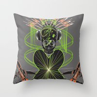 Sound Asylum Throw Pillow