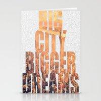 Big City Dreams Stationery Cards
