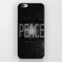 Peace Is Always Beautifu… iPhone & iPod Skin