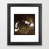When they were made in the USA Framed Art Print