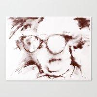 The Visionary Sepia Canvas Print