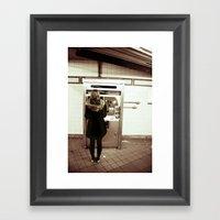 34th Street Framed Art Print
