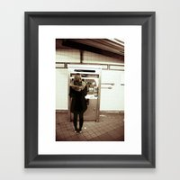 34th Street Framed Art Print