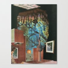 Inner Cities: The Lost City Canvas Print