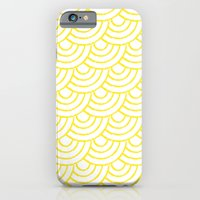 THE SEAS ROLL YELLOW iPhone 6 Slim Case