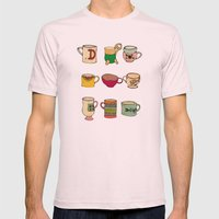 My Mugs! Mens Fitted Tee Light Pink SMALL