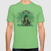 The Elements Mens Fitted Tee Grass SMALL