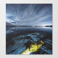 Lagoon of Light Canvas Print