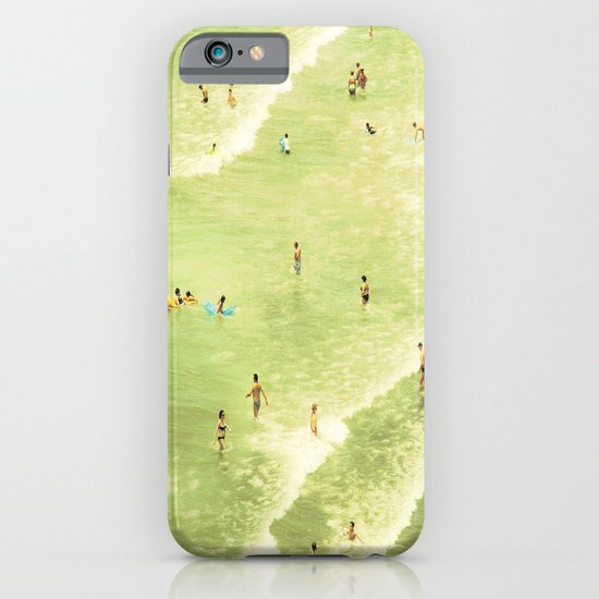 Let's Go Swimming iPhone & iPod Case