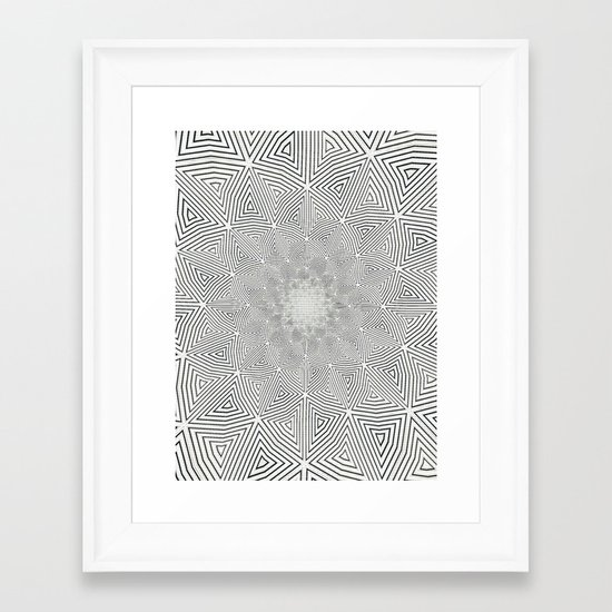 Vibrascreen Framed Art Print
