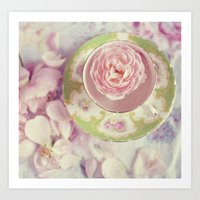 When Alice Came To Tea Art Print
