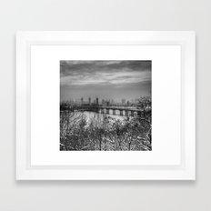 Dead City Framed Art Print