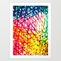 Vibrant Summer  Art Print