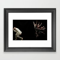 Bodyvox Duo Three Framed Art Print