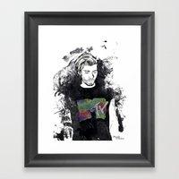 Zayn Malik 1D Framed Art Print