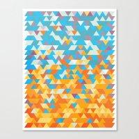 SunAngle Canvas Print
