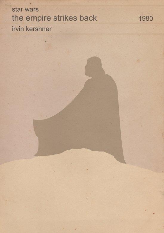 The Empire Strikes Back (Old) Art Print