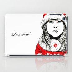 Snow-maiden iPad Case