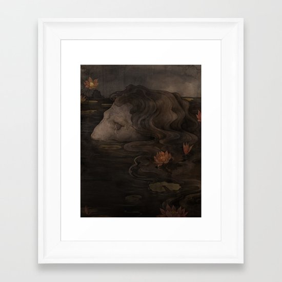 Waterborn Framed Art Print