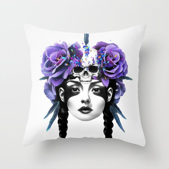 New Way Warrior Throw Pillow