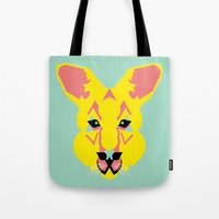 Skippy the Bush Kangaroo Tote Bag