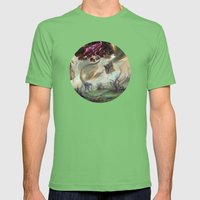 Eldrazi Swamp Mens Fitted Tee Grass SMALL