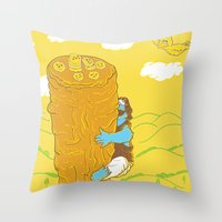 Mission Impossible Throw Pillow