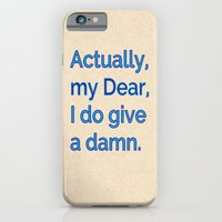 Actually, My Dear iPhone 6 Slim Case