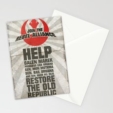 Join the Rebel Alliance Stationery Cards