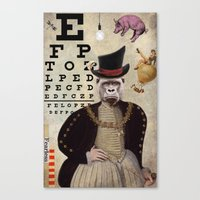 Animal Collection -- 20… Canvas Print