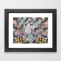 Poseidon's Inter-Dimensi… Framed Art Print