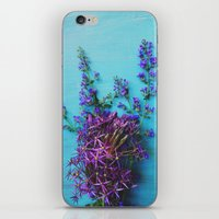 She Found Stray Flowers … iPhone & iPod Skin