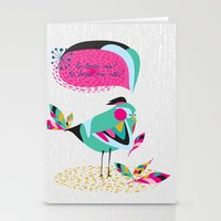 he loves me / he loves me not? Stationery Cards