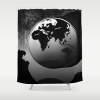 Eclecticism In Its Pures… Shower Curtain