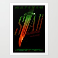 Stab (Movie Poster) Art Print