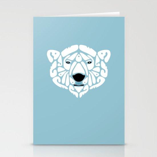 An Béar Bán (The White Bear) Stationery Card